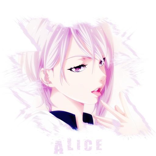 Alice ( Profil ) Gadis manga, Manga