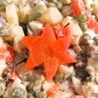 Salat Olivier Stern #olivierrussischersalat