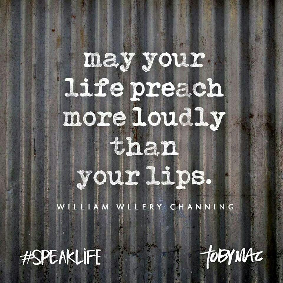 #speaklife
