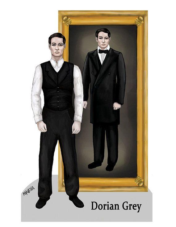 000 Dorian Paper Doll by Joseph Mancha by EarthenwareAndFire