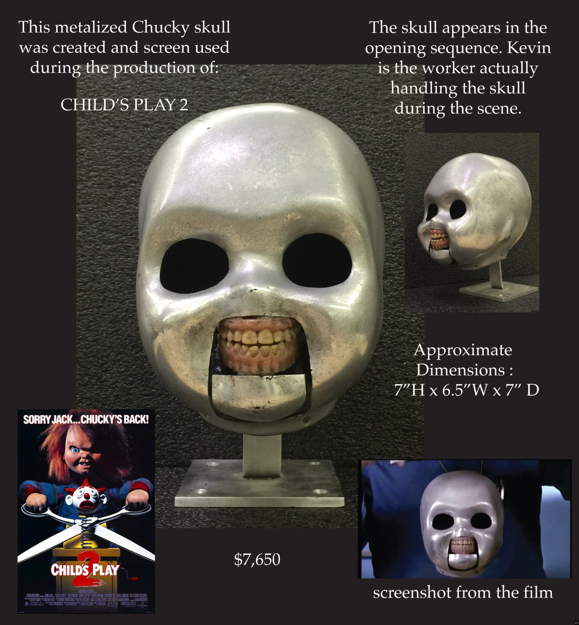 Effects Artist Is Selling Incredible Screen Used Child S Play