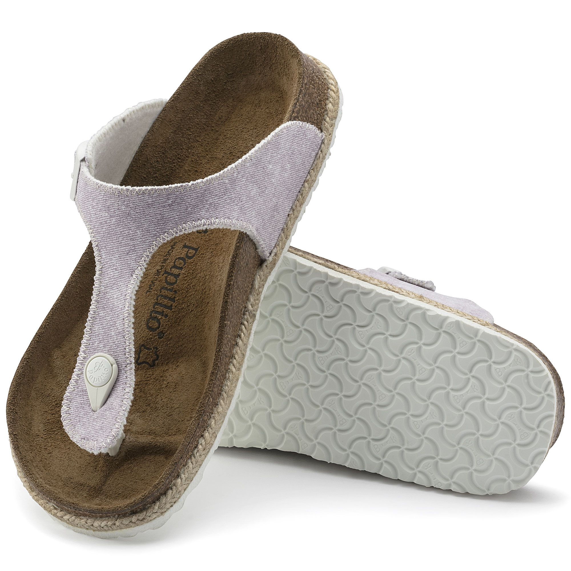 Gizeh Beach Purple Textile   If the shoe fits
