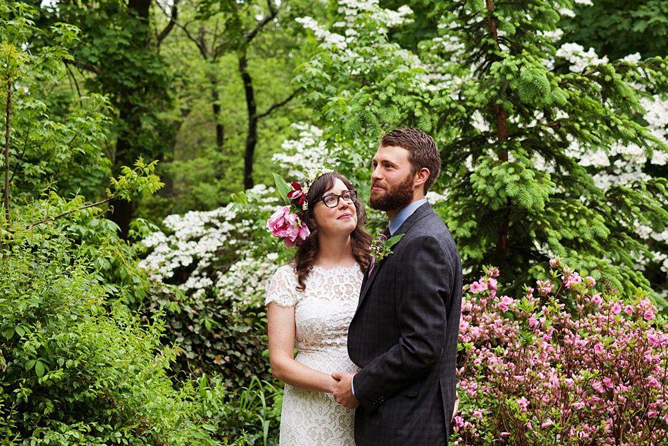 Our 9k staten island backyard garden wedding practical