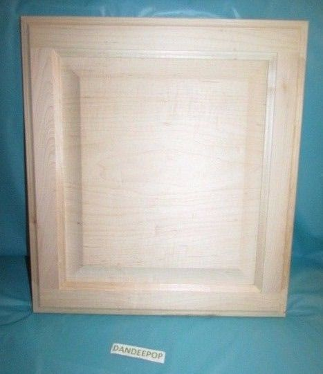 How To Stain Unfinished Kitchen Cabinets: Solid Maple Wood Unfinished Stain Grade Kitchen Cabinet