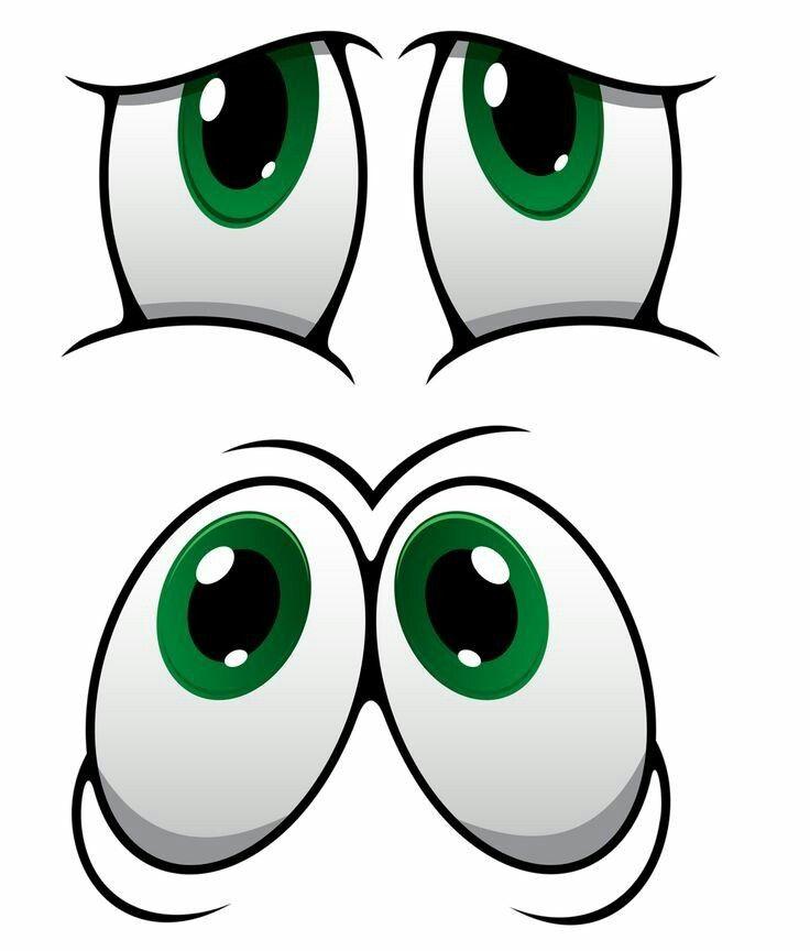 Рисунок глаз прикольных
