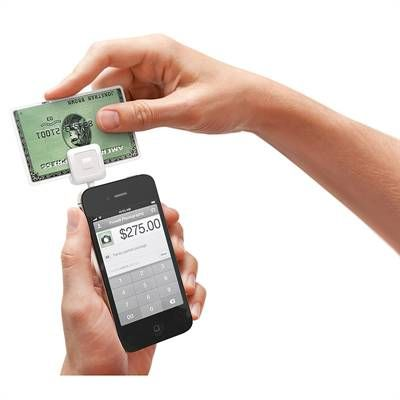 The Square Card Reader enables anyone to accept credit