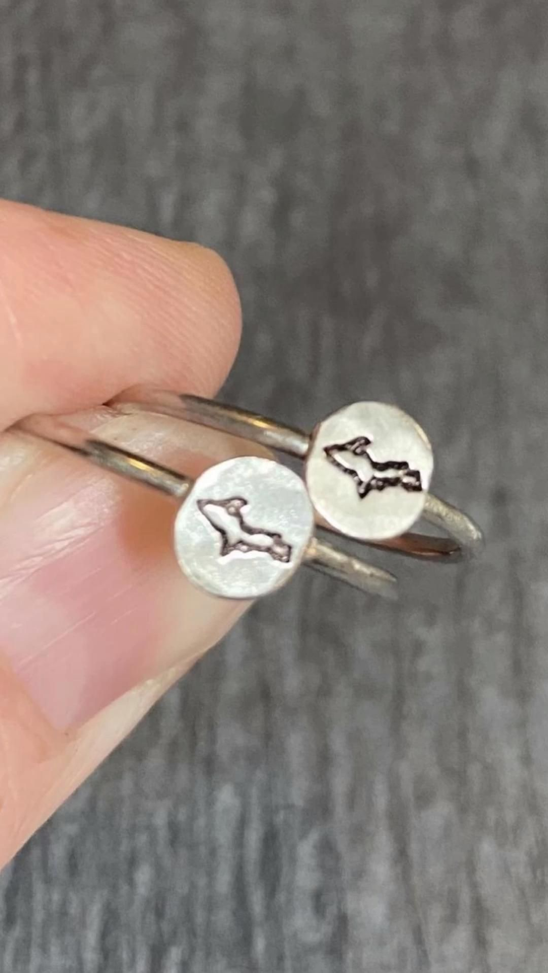 Handmade Cannon Earring Studs Cannon Earring Studs in Sterling Silver Handmade in England