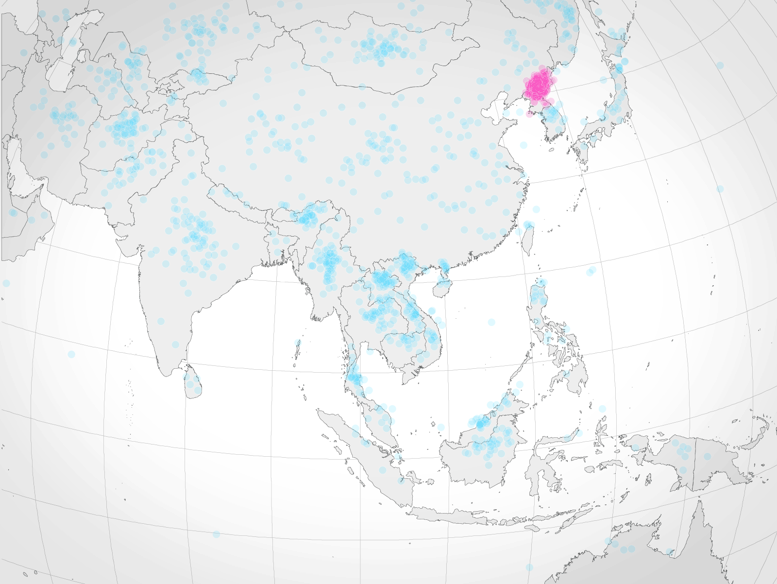 If americans can find north korea on a map theyre more likely to if americans can find north korea on a map theyre more likely to prefer diplomacy gumiabroncs Gallery