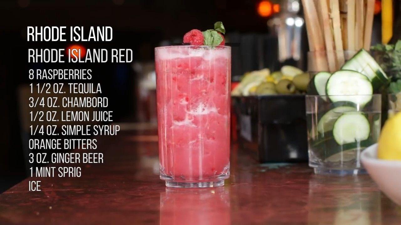 Rhode Island S Most Popular Drink Rhode Island Red Op