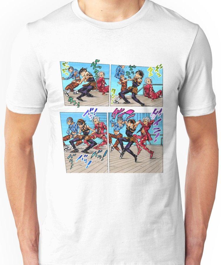 dbdf8052b9057 Torture Dance (Jojo's Bizzare Adventure Part 5: Golden Wind Unisex T-Shirt