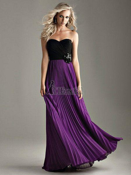 Purple And Black Wedding Dresses Purple And Black Wedding Dress