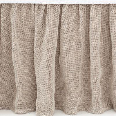 Pine Cone Hill Linen Mesh Bed Skirt