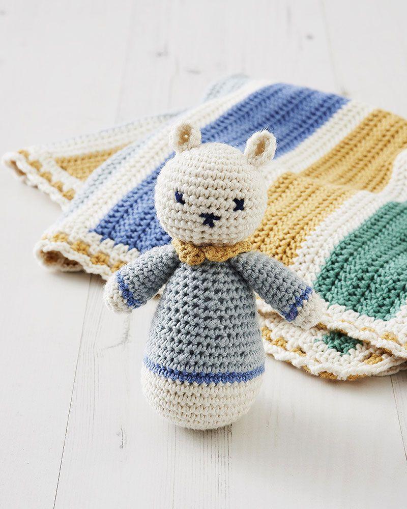 Patron gratuit pour crocheter un hochet   Crochet, Free pattern and ...