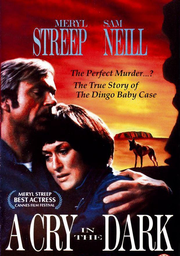 MERYL STREEP vintage movie poster A CRY IN THE DARK family drama 24X36 RARE
