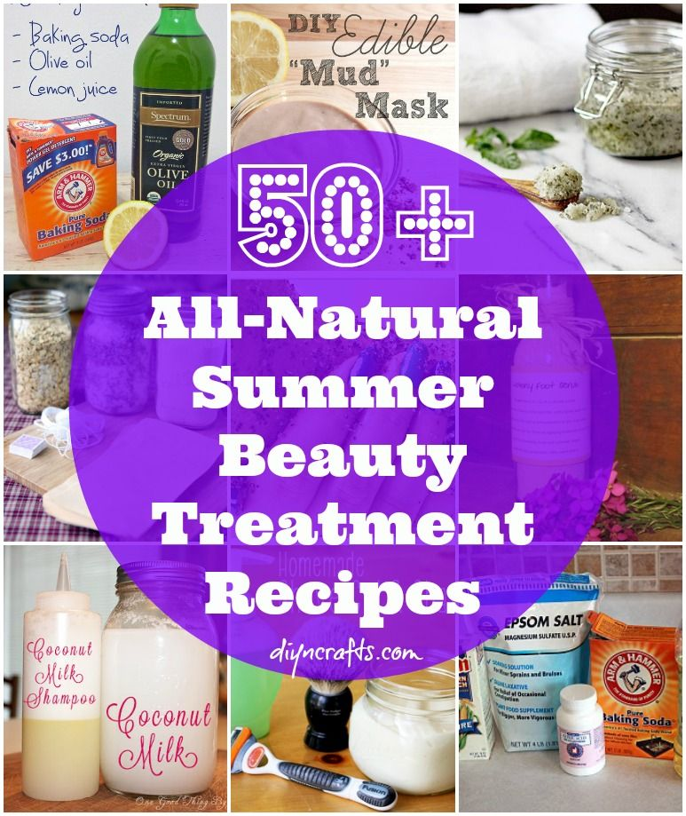 50 AllNatural Summer Beauty Treatment Recipes is part of Natural beauty treatments, Summer beauty, Diy beauty treatments, Skin care, Beauty recipe, Natural skin care - Summer is coming! With that being said, it's time to begin thinking of how you are going to keep your hair, skin and nails beautiful during the warmer weather  All those trips to the pool,