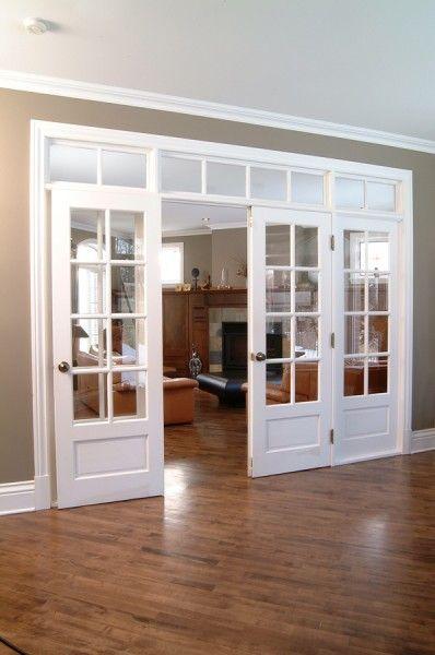 porte fran aise quadruple avec verrou encastr et. Black Bedroom Furniture Sets. Home Design Ideas