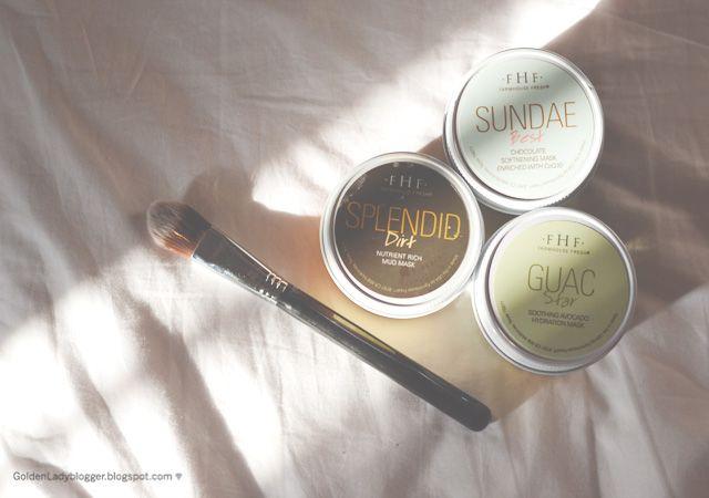Golden Lady مراجعة أقنعة فارم هاوس فريش Farmhouse Fresh Masks Review Blog Lady Sundae