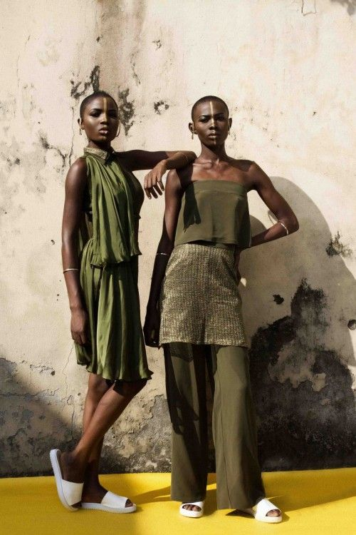 Nigeria's iamISIGO's Releases It's S/S 2015 Taboo Collection Lookbook | FashionGHANA.com (100% African Fashion)