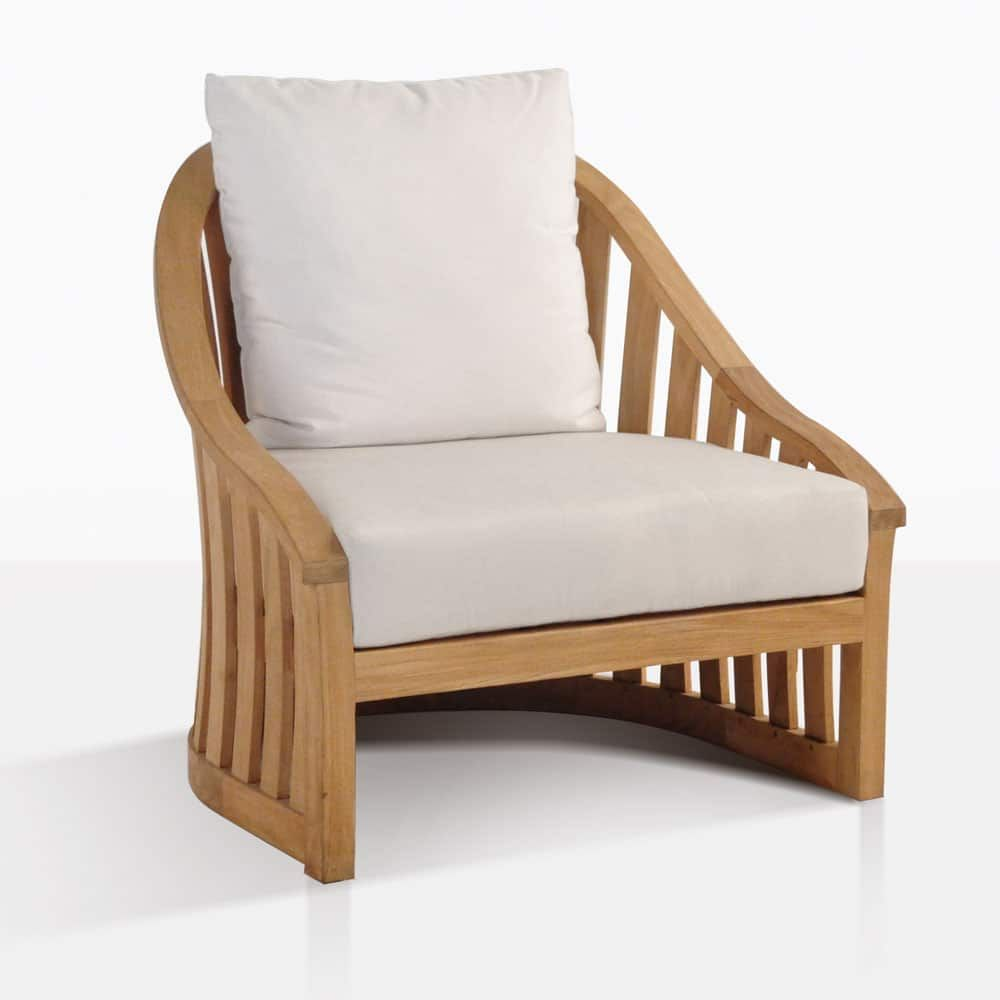 The Charter Teak Outdoor Chair Is A Nautical Inspired Style That Is Made From A Grade Teak Giving It Spect Outdoor Chairs Relaxing Chair Teak Outdoor