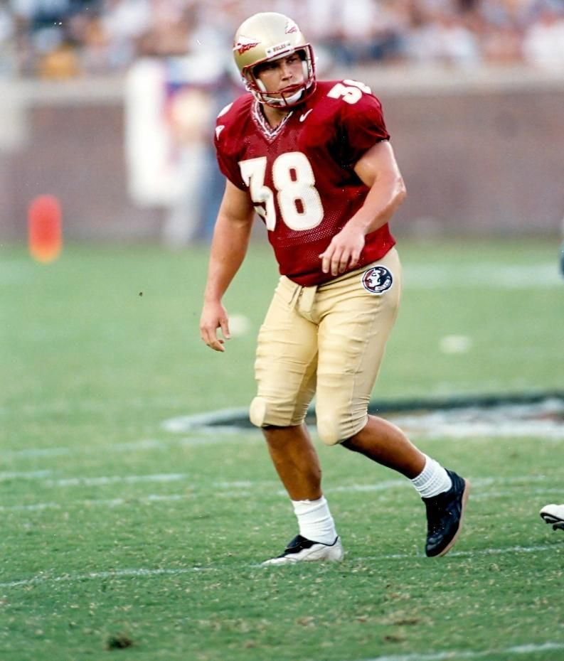 Sebastian Janikowski Is My All Time Favorite Kicker Who Ever Played His Remarkable Performances Fsu Football Florida State Seminoles Football Noles Football