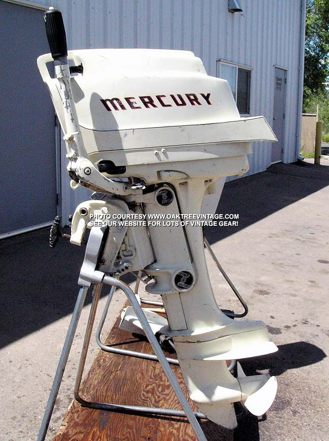 Old merc vintage outboards pinterest for Buy new mercury outboard motor