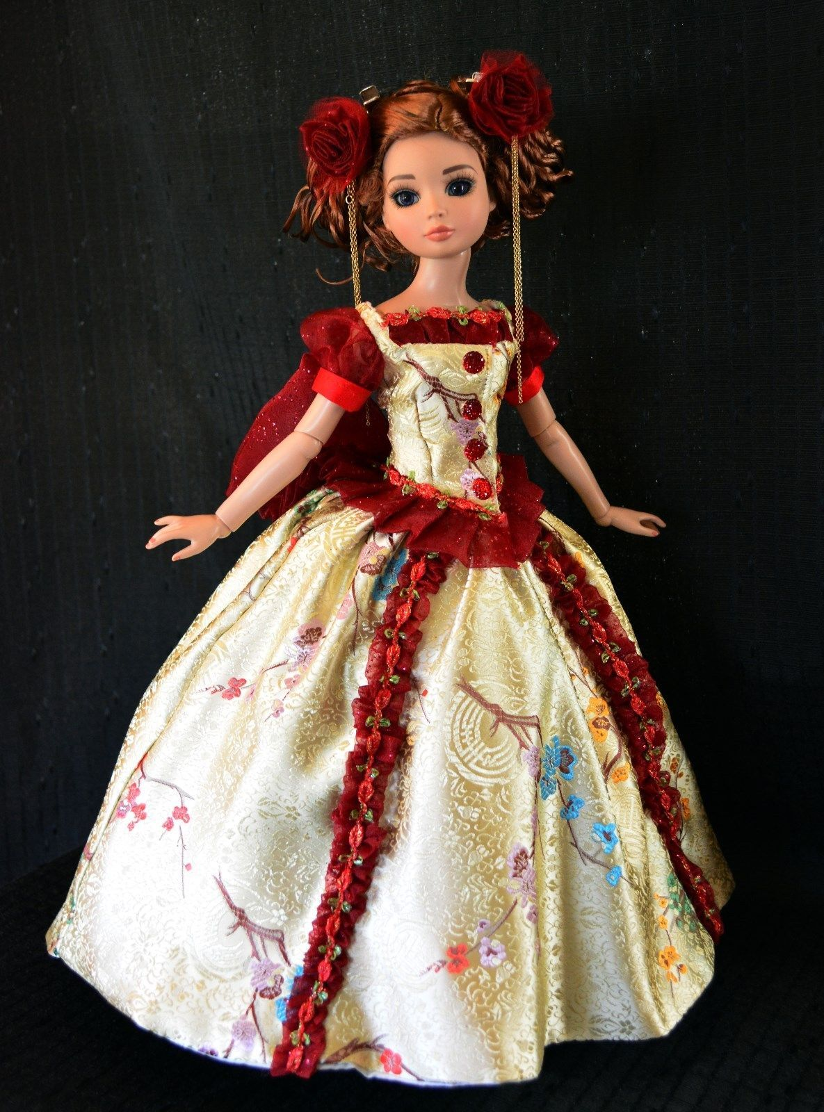 """""""In Imperial China"""" Dress for Ellowyne, by luminariadesigns via eBay ends 5/1/14"""