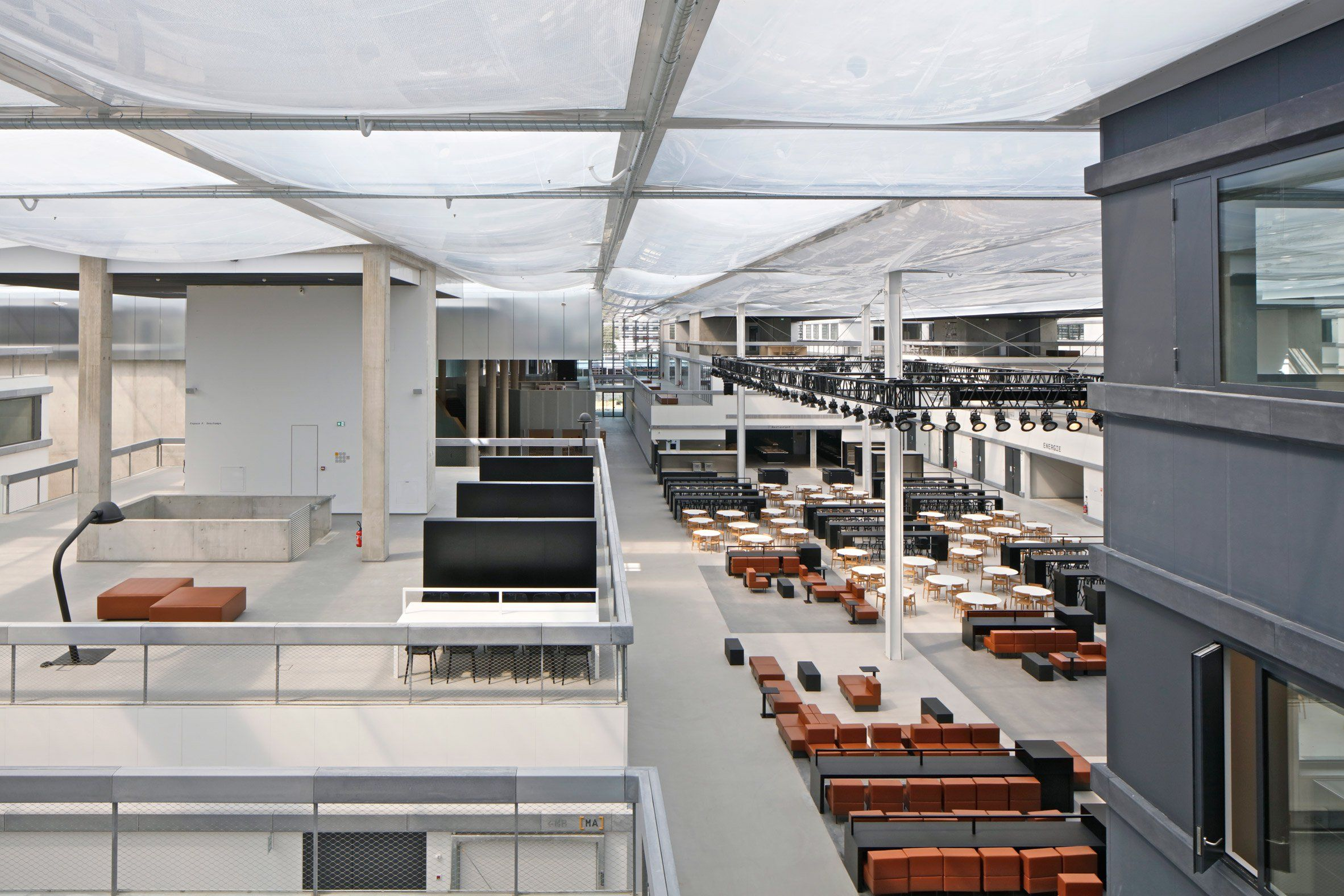 OMA builds cityinspired engineering school for Ecole Centrale Paris