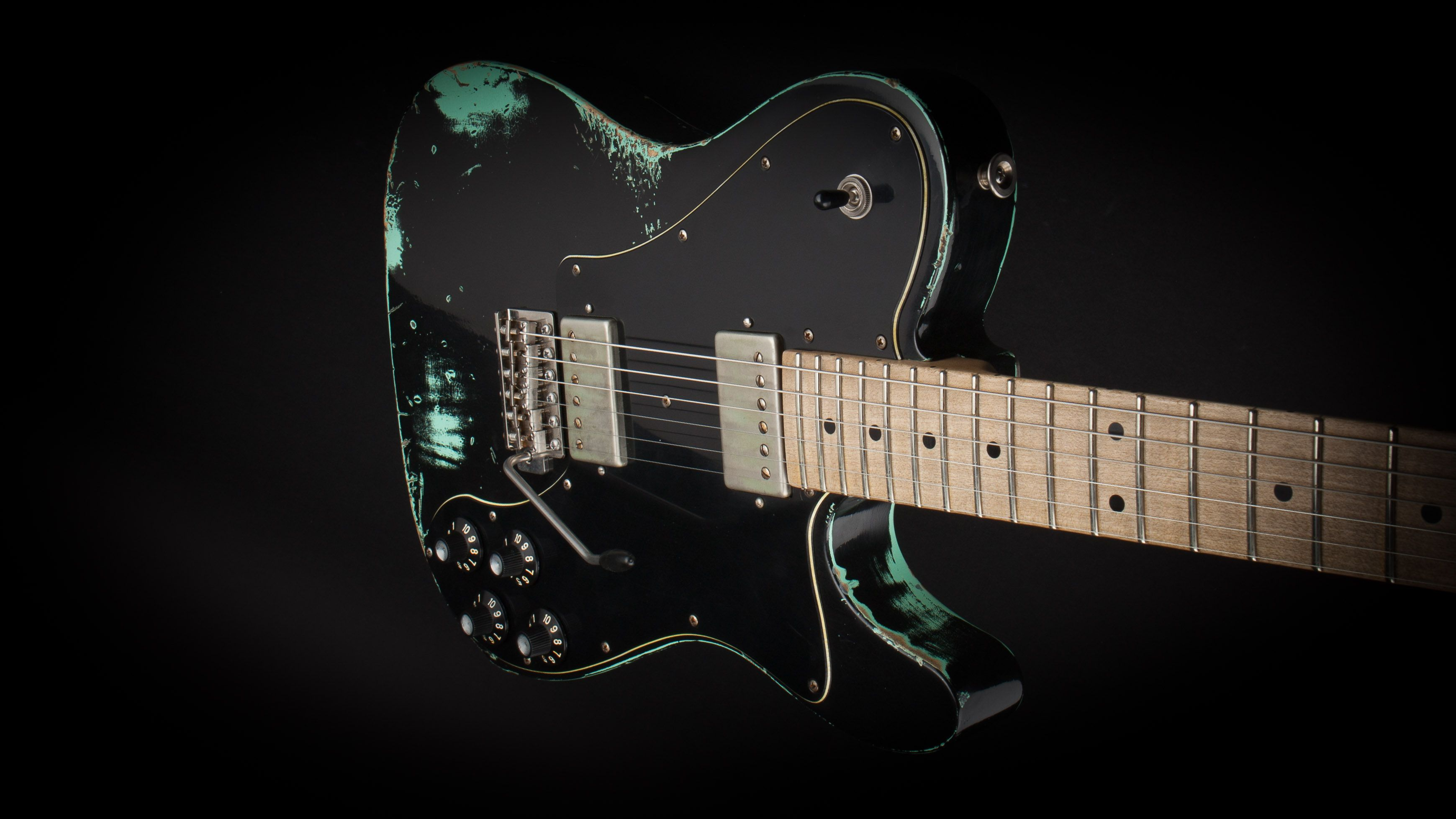 luxxtone nashville black over sea foam green 0017 luxxtone guitars california in 2019. Black Bedroom Furniture Sets. Home Design Ideas