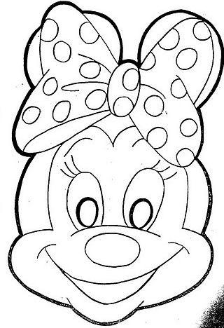 Maschera Minnie Carnevale