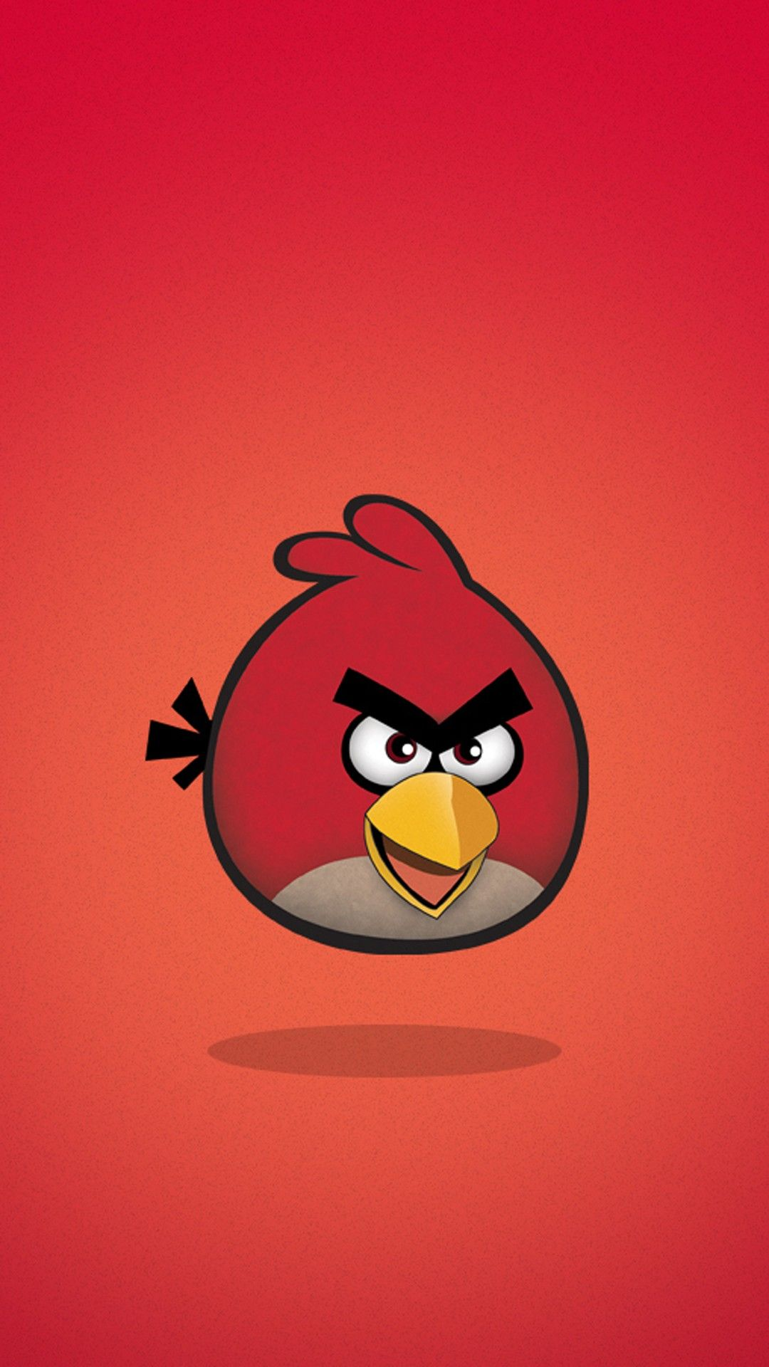 Angry Birds Red Smartphone Wallpaper And Lockscreen Hd Papel De Parede Android Papeis De Parede Papeis De Parede Para Iphone