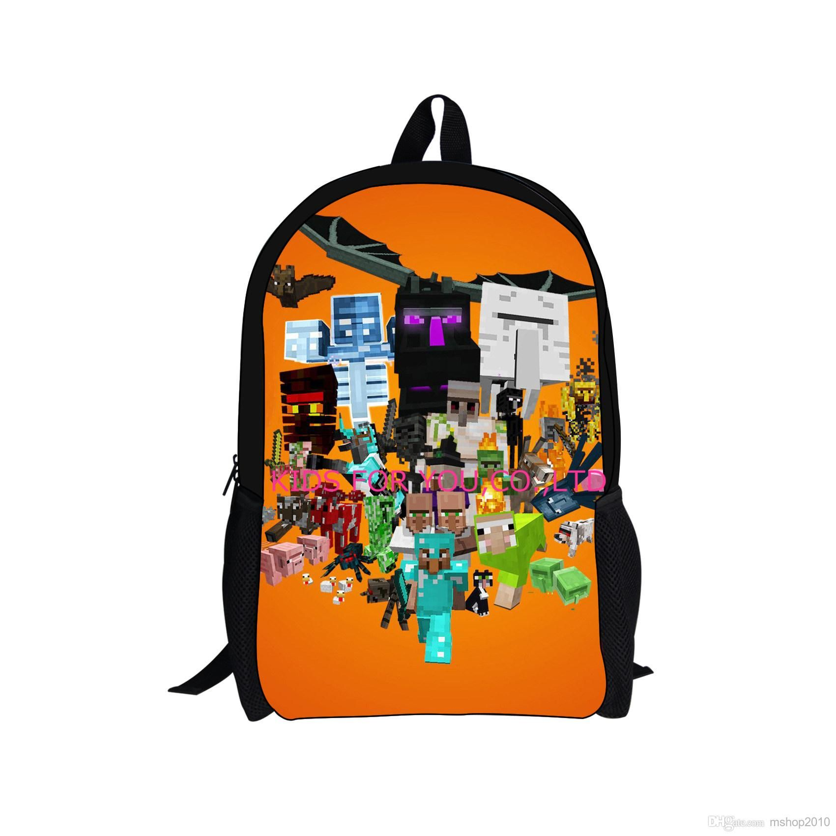 2c097a18b207 Best Hot Sale Minecraft Backpacks School Bags Minecraft Backpack For ...