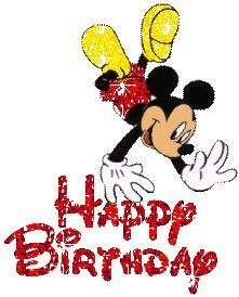 10765dc05e02120b7312a0b2c817d860 mickey mouse happy birthday glitter pinky pinterest happy