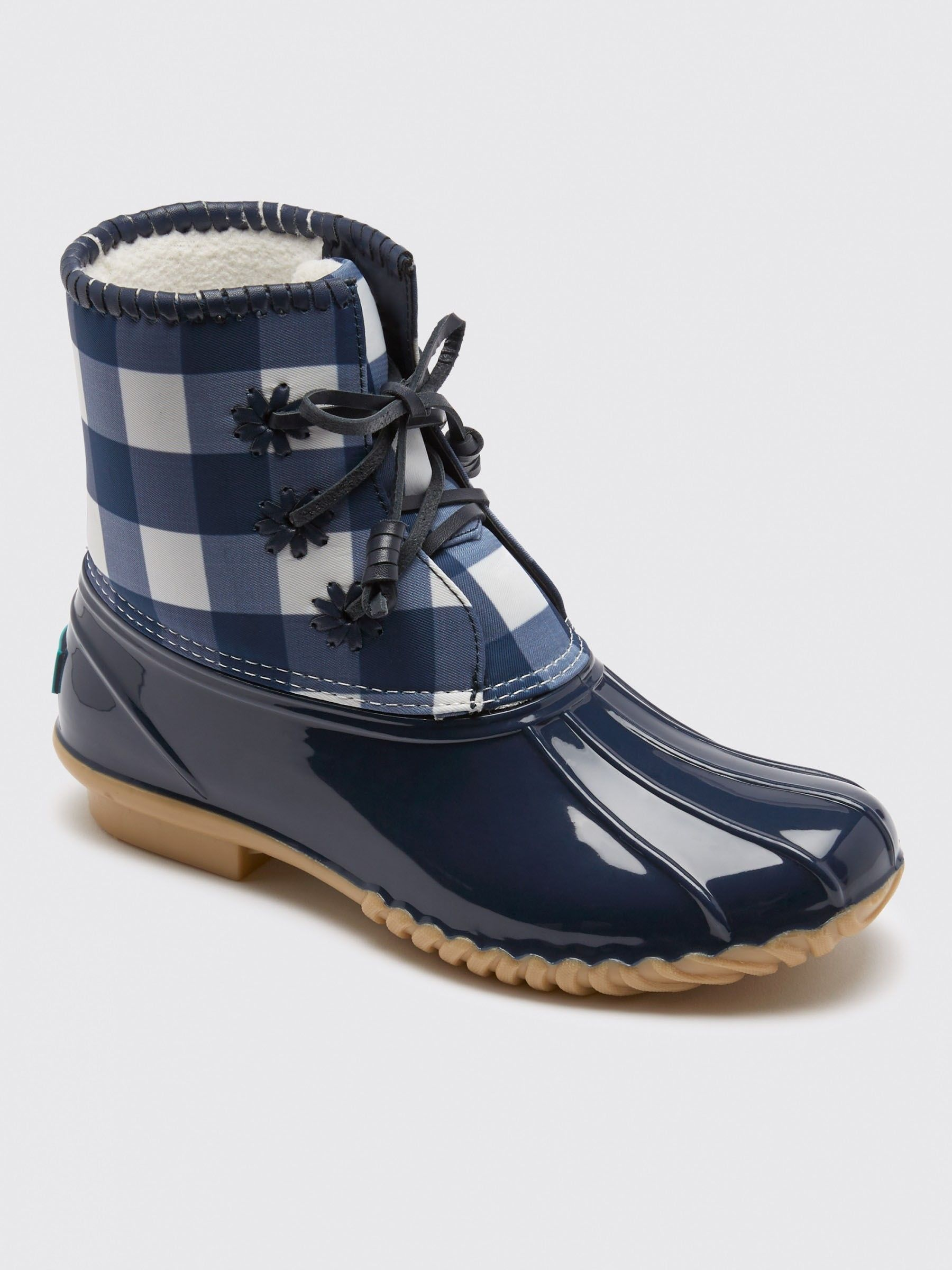 6e8d42f5492 Jack Rogers X Draper James Gingham Chloe Boot