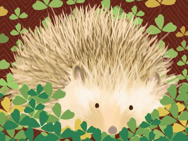 Oopsy Daisy Henry the Hedgehog Canvas Art