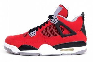AIR JORDAN 4 (BLACK / RED - RAGING BULL TORO BRAVO) - $289.99 :