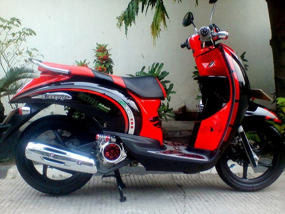 Modifikasi Motor Honda Matic Modifikasi Motor Terbaru Honda