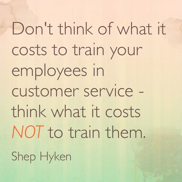 Customer Service Quotes Funny: Customer Service Training