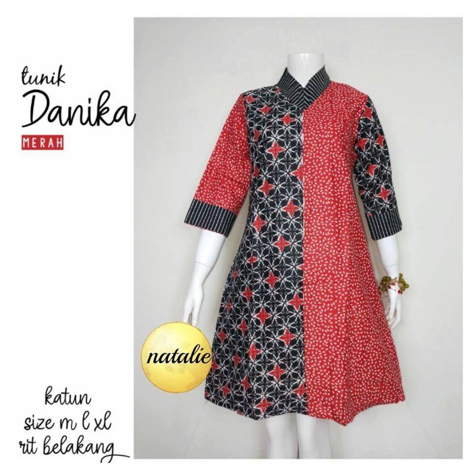 Baju Tunik Batik