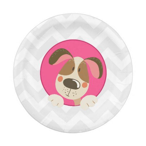 Dog puppy Birthday Paper Plates Paw-ty Pink Girl | 1st Birthday Party | Pinterest | Puppy birthday Pink girl and Birthdays  sc 1 st  Pinterest & Dog puppy Birthday Paper Plates Paw-ty Pink Girl | 1st Birthday ...