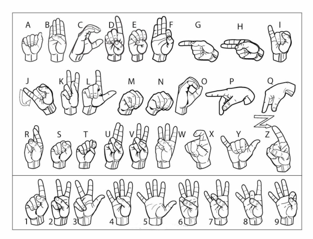 printable sign language | cub scout ideas | Pinterest
