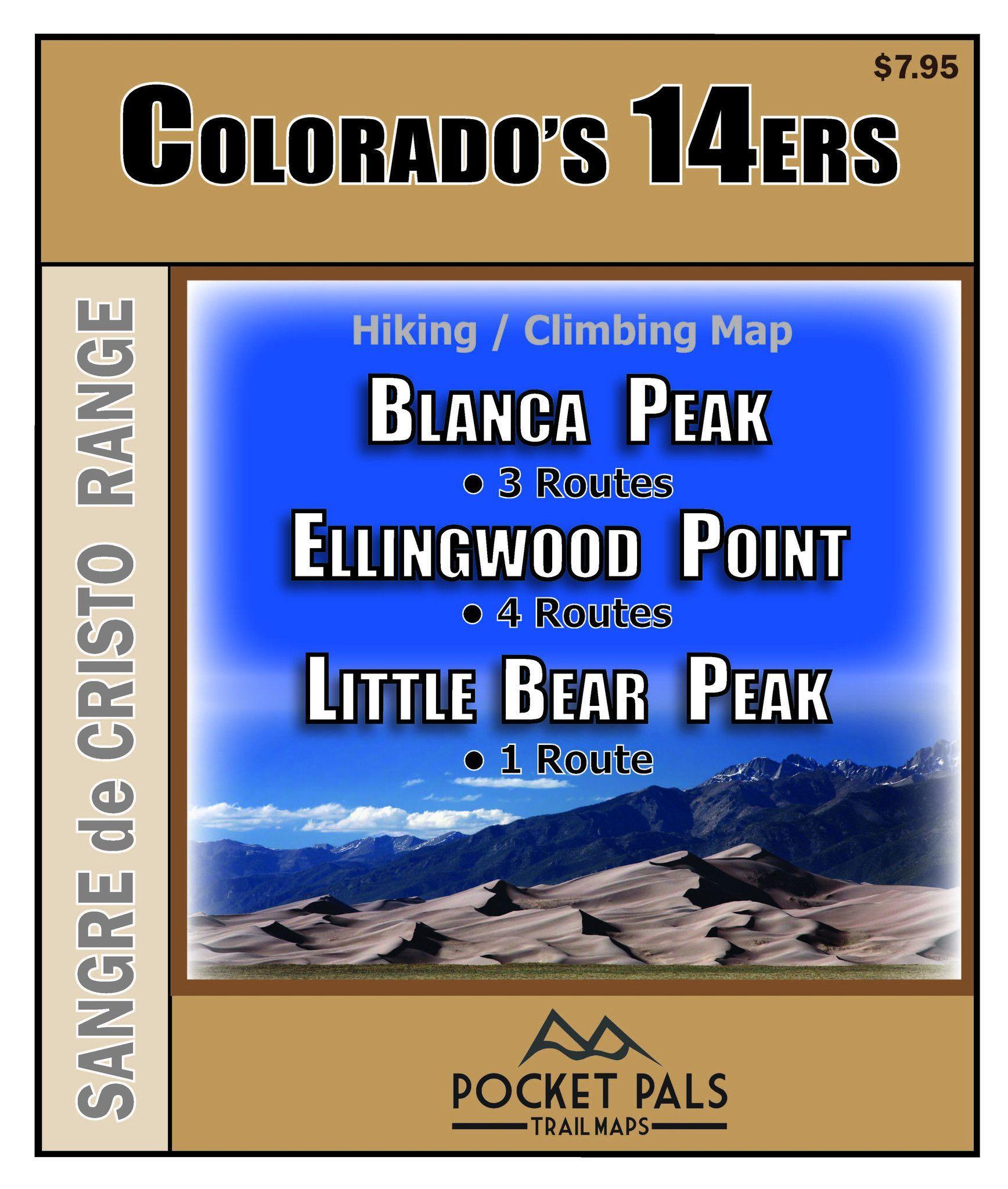 Blanca Peak, Ellingwood Point, Little Bear Peak - Sangre de Cristo Range