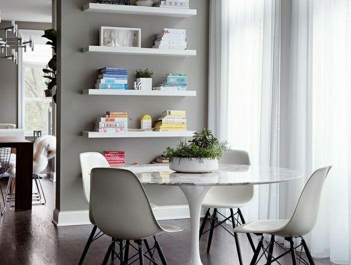 Une Table Tulipe Pour Votre Interieur Moderne Salle A Manger Table Ronde Salle A Manger Grise Table Tulipe