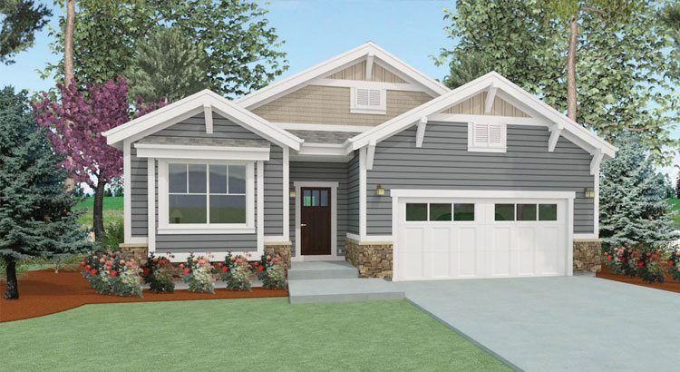 Glade Plan At Riverrun Patio Homes For Sale In Greeley Co