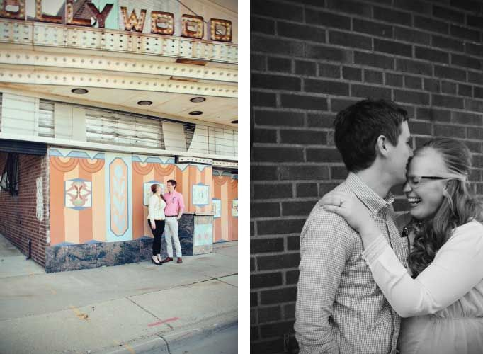 Vintage Engagement Photoshoot