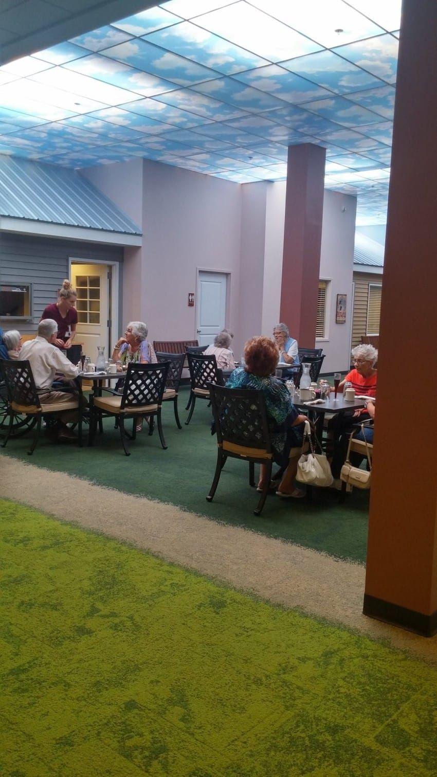 Nursing Home Conceals Indoor 1940s Neighborhood To Comfort
