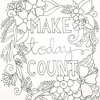 inspirational flower coloring pages - photo#10