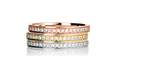 Our diamond ring Eterna glows in 3 different precious metals! Which one is your favourite? #Yorxs #Diamantring
