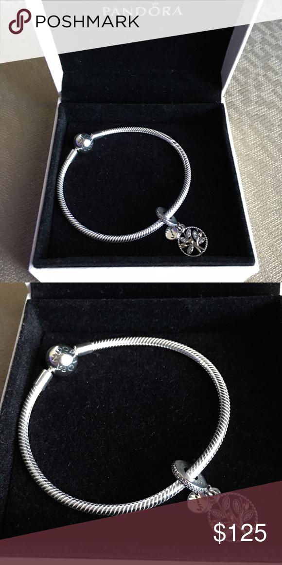 1ebd3610f Pandora Smooth Clasp Bracelet 7.5