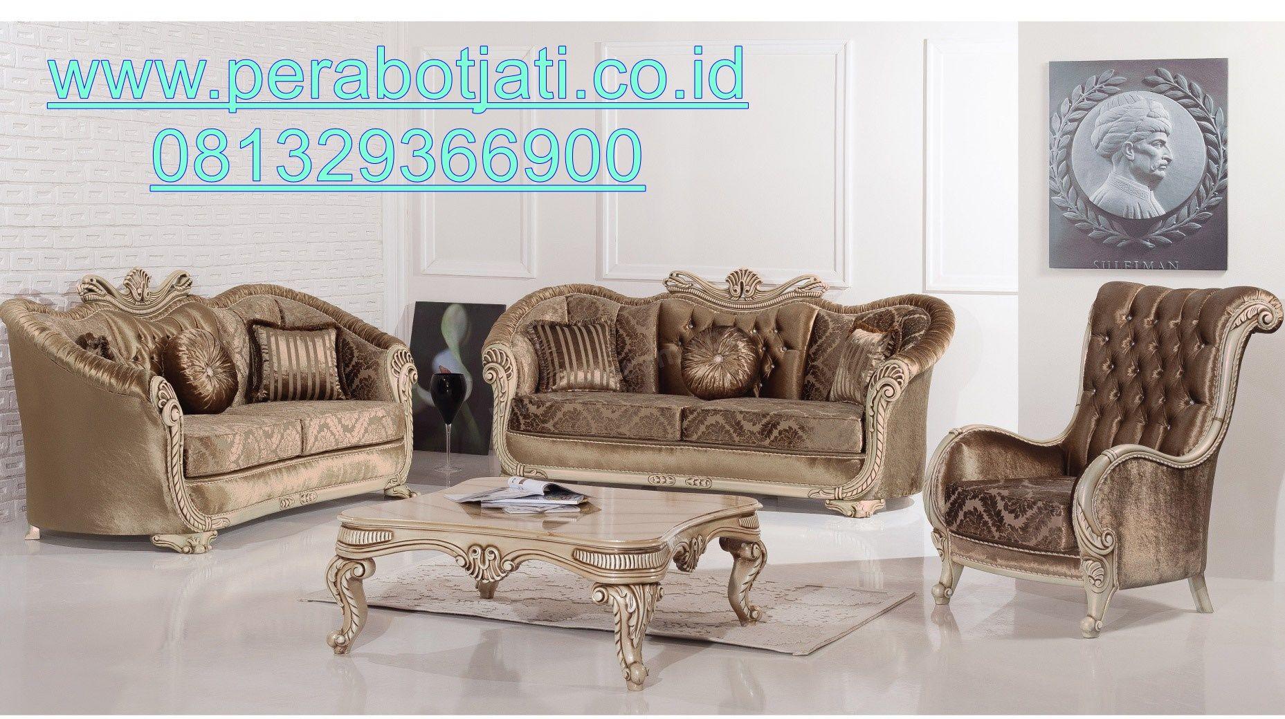 Furniture Kursi Tamu Mewah Eropa Dan Elegan