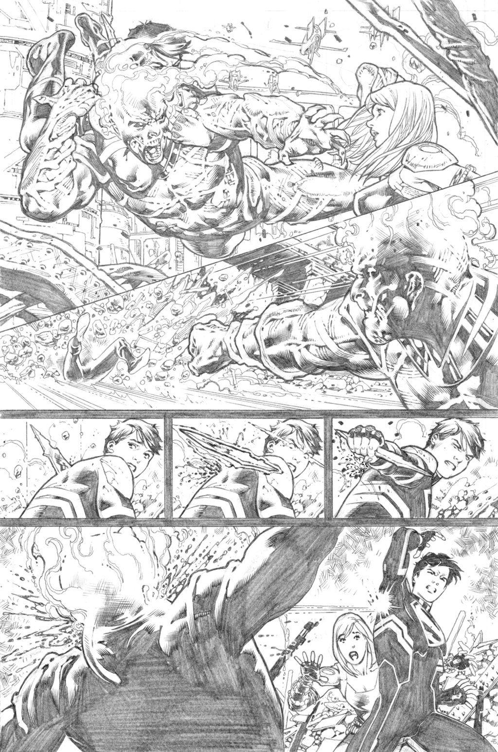 Supergirl #25 page 12 by PauloSiqueira.deviantart.com on @deviantART